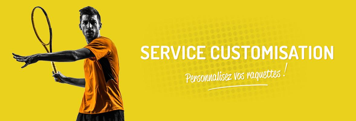 Custom Service - Matching Raquettes Identiques