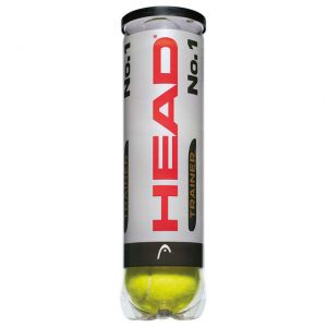 Tubes de 4 Balles Head No.1 -  ATP Masters Series en Europe.