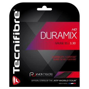 Cordage Tecnifibre Duramix HD Noir - Contrôle et Confort - 12m