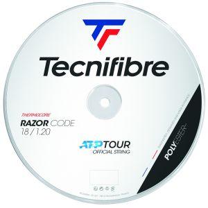 Bobine Tecnifibre Razor Code 1,25mm Bleu 200m