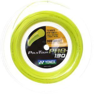 Cordage Yonex Poly Pro Tour 200m - 2 Couleurs : Noir ou Jaune Belinda Bencic  / Offre spéciale sur la bobine jaune 1,25 !!