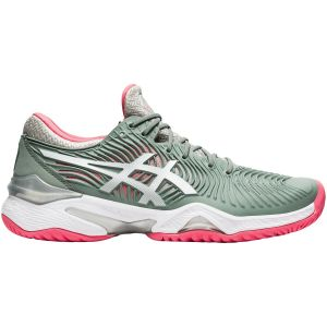 Chaussures Dame Asics Solution Speed FF - Vert/Corail - Toutes surfaces