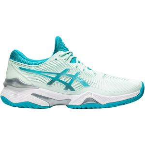 Chaussures Dame Asics Solution Speed FF - Toutes surfaces Menthe/Turquoise