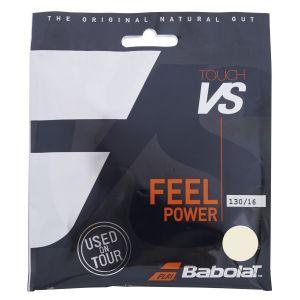 Cordage Babolat VS Touch N°1 Mondial  - 12m 1 raquette - Boyau Naturel - Confort - Puissance - Durabilité