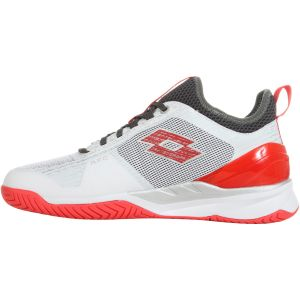 Chaussures Homme Lotto Mirage 200 Blanc/Rouge - Terre Battue