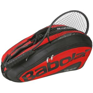 Sac de Tennis Babolat Team Limited x12 Raquettes Rouge/Noir