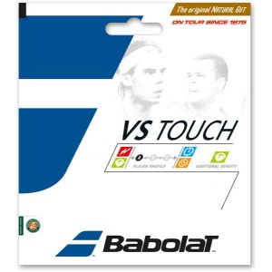 Cordage Babolat VS Touch Boyau Naturel 1,30 mm - 6 m - Confort - Puissance - Tenue de tension