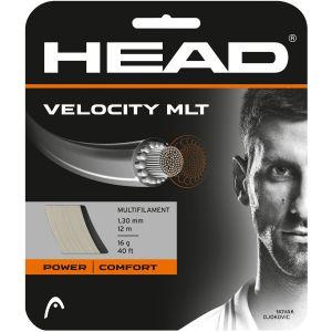 Cordage Head Velocity MLT (Puissance-Confort-Durabilité) 1,30 - Ecru 12m 1 raquette