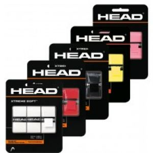 Surgrips Head XtremSoft Perforés - Bleu-Rouge-Noir-Blanc-Lime