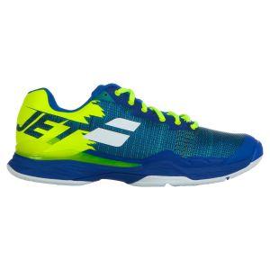 Offre Spéciale Chaussures Homme Babolat Jet Mach I Blue/Fluo Aero- Taille 40,5 Tout Terrain