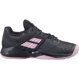 Chaussures Dame Babolat/Michelin Propulse Fury 2020 - Noir/Rose - Terre Battue