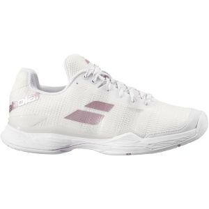 Chaussures Dame Babolat/Michelin Jet Mach II 2020 - Blanc - Toutes surfaces