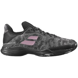 Chaussures Dame Babolat Jet Tere 2020 - Noir/Rose - Terre Battue