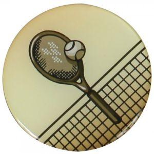 Pastille Tennis Aluminium à Incorporer dans les Médailles