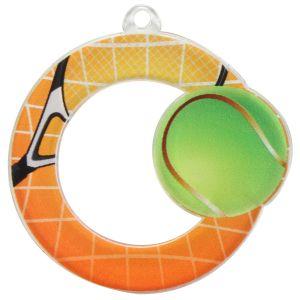 Médaille Tennis Diamètre 5 cm en Acrylique
