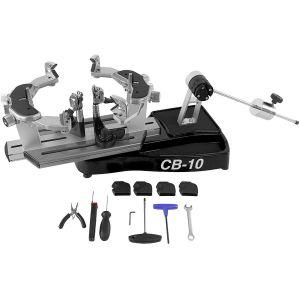 Machine à Corder Haut de Gamme CB10 Pro Manuelle avec Outillage - Transportable 12,5 kg - Tennis / Squash / Badminton