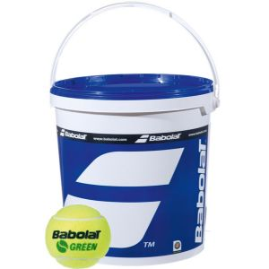 Balles Babolat Green Officielles SwissTennis Compétitions Juniors - Baril de 72