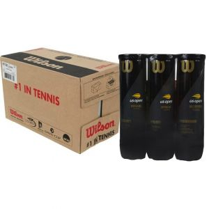 Carton de Balles Wilson US Open Officiel ATP-WTA Tours 2019 - 18 tubes x4