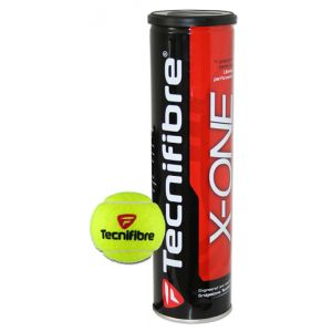 Balles Tecnifibre X-One - Officielles ITF et SwissTennis - Swiss Open Gstaad et Lausanne 2019