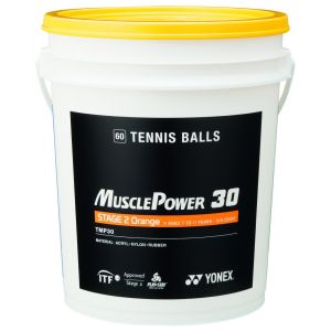 Baril de 60 balles Yonex - Stan Wawrinka - TMP 30 - Stage 2 Orange - Kids Tennis