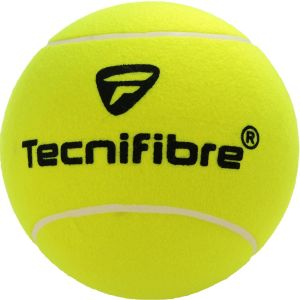 Balle Géante Tecnifibre - Diamètre: 22 cm - Une Aiguille de Gonflage est fournie.