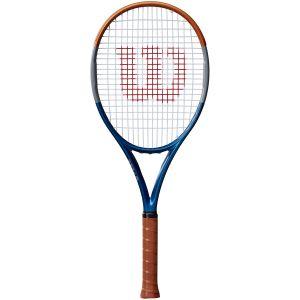 Mini Raquette Wilson Roland Garros -  L 25 cm - Fabriquée avec les mêmes matériaux que l'originale - Effet garanti comme cadeau
