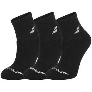 Chaussettes Chevilles Babolat ATP Tour - Pack de 3 paires Noir