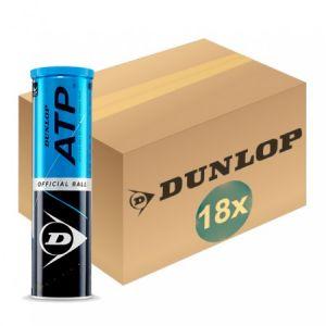 Balles Dunlop ATP Tour - Masters de Londres - Carton de 18 Tubes x 4