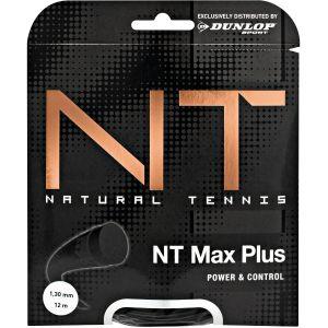 Cordage Dunlop NT MAX Plus - 12m 1 Raquette - 1.25 ou 1.30 mm (Contrôle Puissance et Confort)