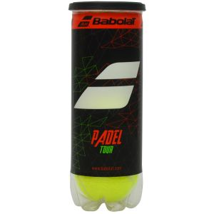 Balles Babolat Padel Pro Tour - Officielles Competitions Word Padel Tour - Tube x3