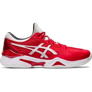 Chaussures Homme Asics Djokovic Court FF 2 Rouge - 2020 - Toutes surfaces - 1x 42.5