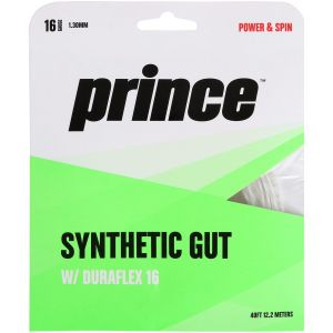 Cordage Prince Synthetic Gut Duraflex - 1,30 mm