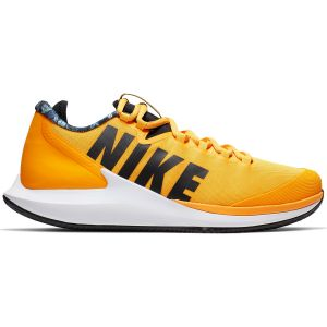 Chaussures Homme Nike Air Zoom Zero Terre Battue - Surfaces glissantes - Jaune-Orange - 41