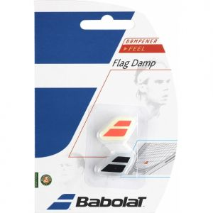 Antivibrateurs x2 Babolat Flag Damp Rouge/Noir