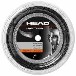 Bobine Head Hawk Touch (Contrôle et Confort) Gris 1,25 - A. Zverev - 120m 10 raquettes env.