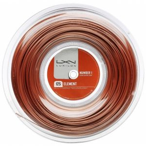 Cordage Luxilon Element 200 m -16 raquettes - Bronze