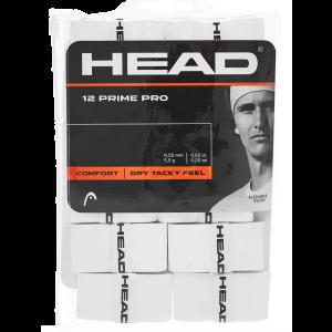 Paquet x 12 Surgrips Head Prime Pro Blanc