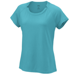 T-shirt Dame Wilson Condition Bleu - Taille L
