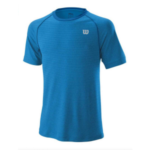 T-Shirt Homme Wilson Crew Bleu - 1x Taille L