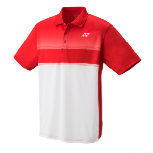 Polo Homme Yonex Wawrinka Blanc/Rouge