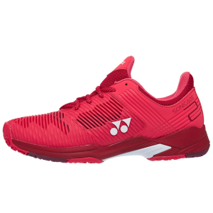 Chaussures Dame Yonex Sonicage 2 Rouge-Corail - Terre Battue