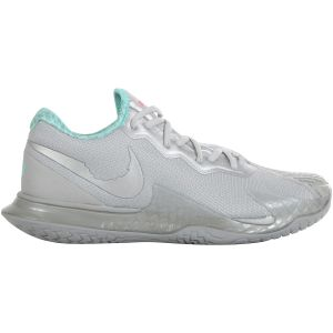 Chaussures Homme Nike Air Zoom Vapor Cage 4 Rafa - 2020 Argent/Turquoise - Terre Battue