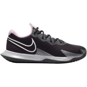 Chaussures Dame Nike Air Air Zoom Vapor Cage 4 Noir/Rose - Toutes surfaces