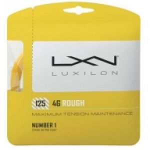 Luxilon 4 G Rough 1.25 ou 1.30 Gold - 1 raquette