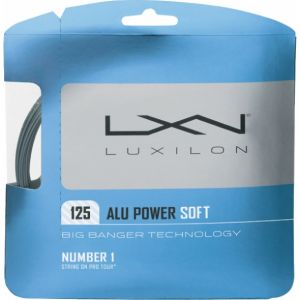 Luxilon Power Soft Argent 1.25 - 1 raquette