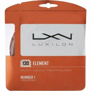Cordage Luxilon Element 1,25 - 1,30 mm - 12,2 m -1 raquette- Bronze