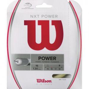 Cordage Wilson NXT Power 1,26 ou 1,30 - 12,20 m 1xRaquette