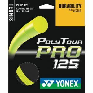 Cordage Yonex PolyTour Pro 1,25  - Cordage de B. Bencic - Jaune