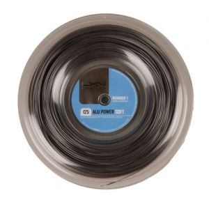 Luxilon Power Soft Argent 1.25 Bobine de 200 m - 16 raquettes env.