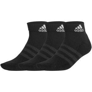 3 Paires de Chaussettes Chevilles Adidas - Noir
